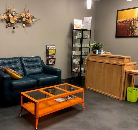 Zev Salon and Studio Waiting Area